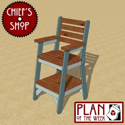 Outdoor Captain S Chair
